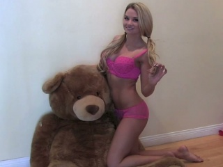 Allie: Pink Teddy